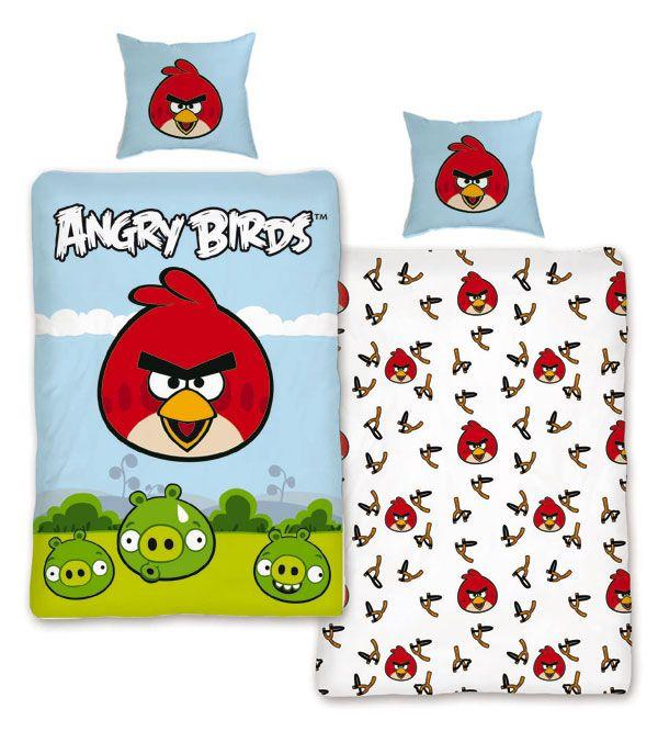 Povlečení Angry Birds Luke 140/200