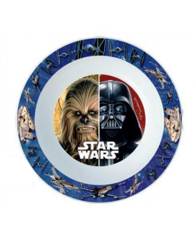 Plastová miska Star Wars Darth Vader a Chewbacca
