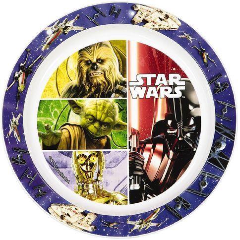 Plastový talíř Star Wars Darth Vader / Chewbacca / Yoda