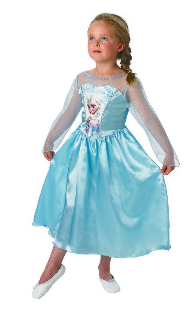 kostým FROZEN - Ledové království ELSA, 7-8 let