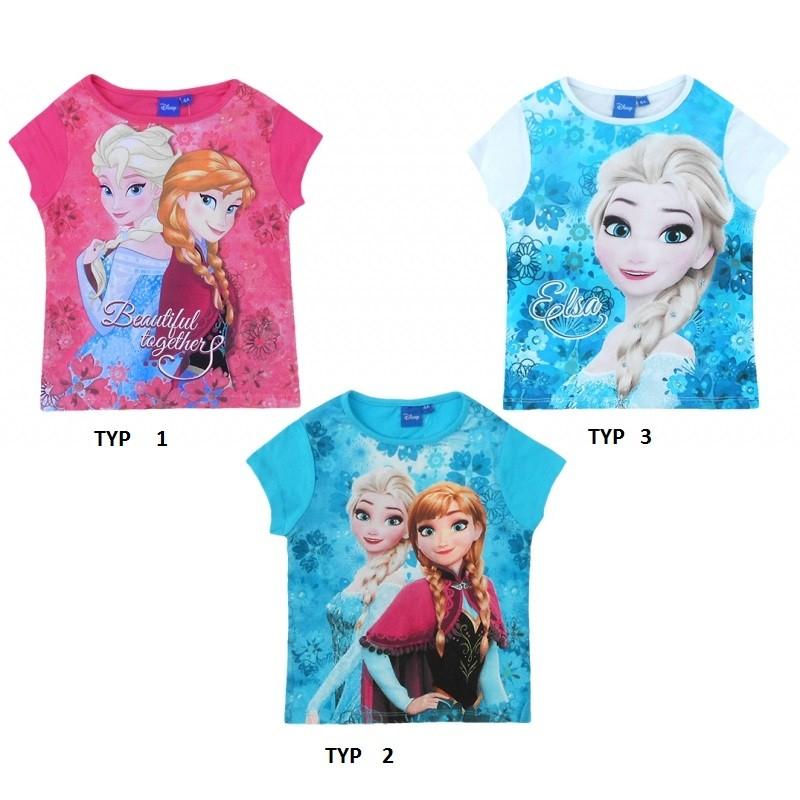 Tričko s krátkým rukávem Frozen / Ledové království / 104 - 128