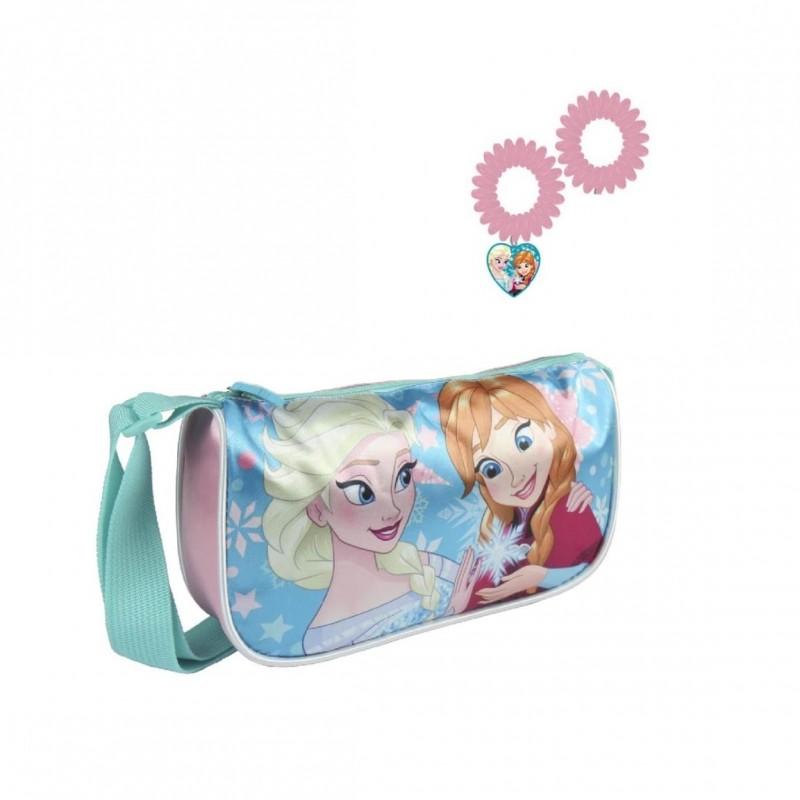 Kabelka Frozen + gumičky do vlasů / 20 x 12 x 4,5 cm