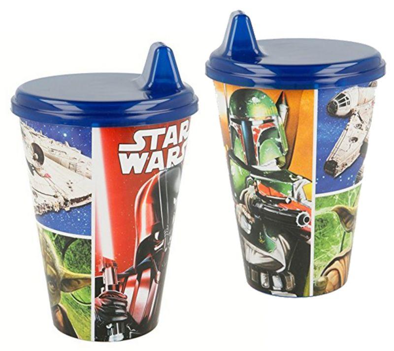 Kelímek s pítkem pro děti / Star Wars / 430 Ml