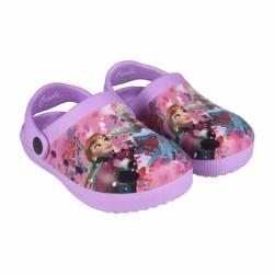 Dívčí letní kroksy / plážové sandále Frozen / Anna a Elsa velikost 23 - 29 / vecizfilmu
