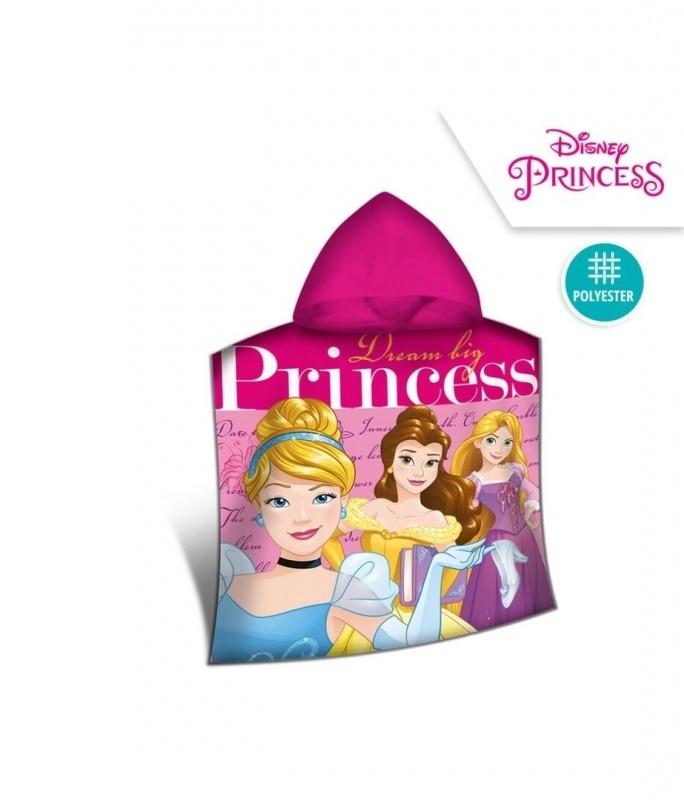 Pončo / ručník Princezny / Princess / 100 x 50 cm