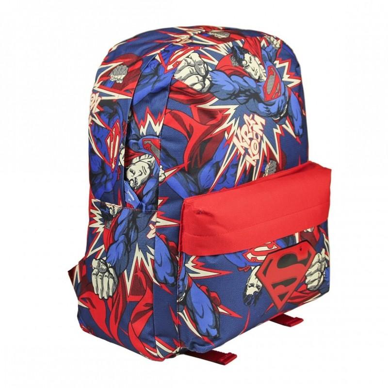 Chlapecký batoh Superman 32 x 40 x 15 cm modro / červený