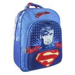 3D chlapecký batoh Superman 31 x 41 x 13 cm modrý
