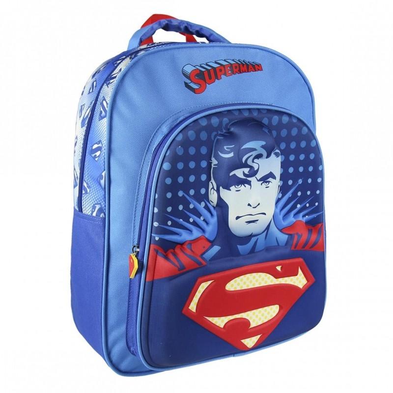 3D chlapecký batoh Superman 31 x 41 x 13 cm modrý   vecizfilmu 8dbb3ed9f0