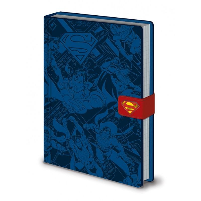 Chlapecký A5 notes / blok v tvrdých deskách Superman / DC Originals / vecizfilmu