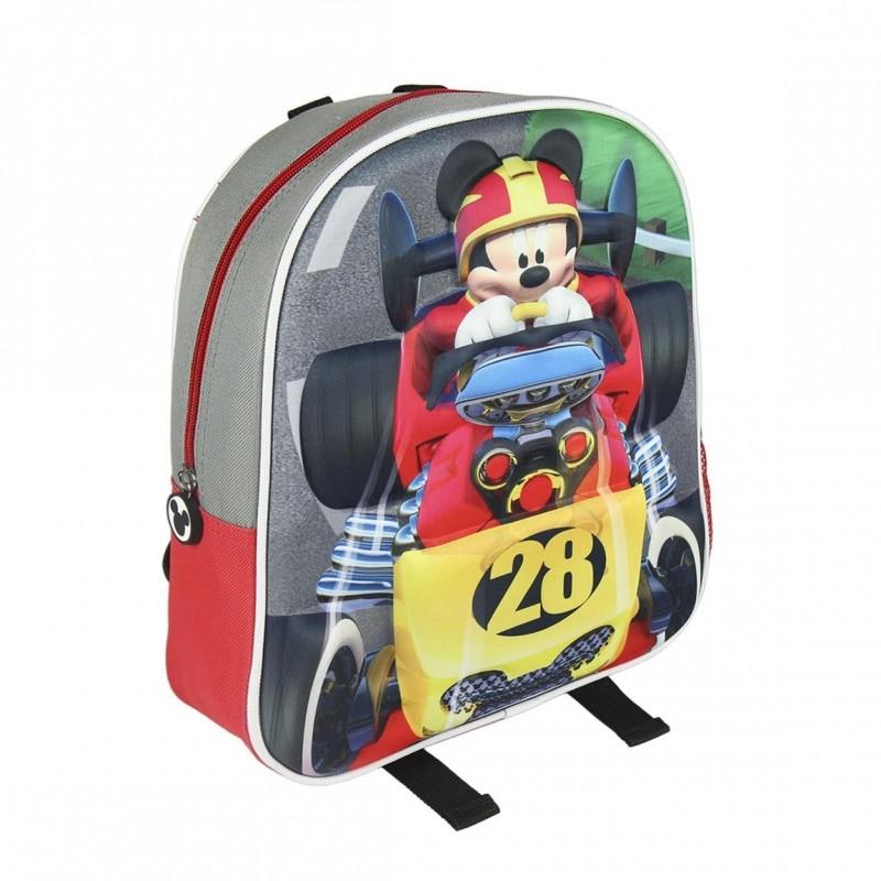Dětský 3D batoh s Myšákem Mickey / Mickey Mouse Formule 25 x 31 x 10 cm