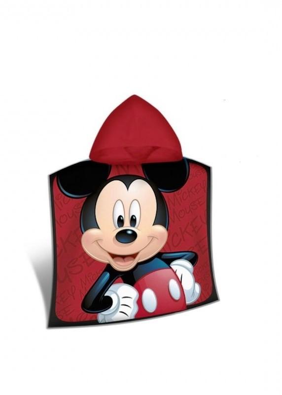 Letní plážová osuška / pončo s Myšákem Mickey / Mickey Mouse 100 x 50 cm