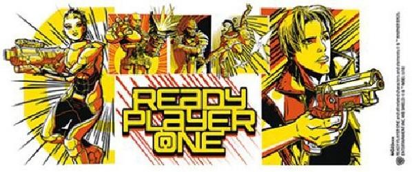 Keramický hrnek Ready Player One / Hra začíná  Comics 300 ml / vecizfilmu