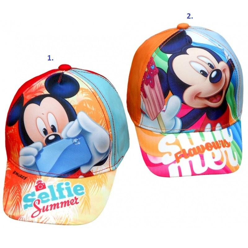 Dětská kšiltovka s Myšákem Mickey / Mickey Mouse Selfie 52 / 54 cm