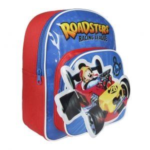 Dětský 3D batoh s Myšákem Mickey / Mickey Mouse Racing 23 x 30 x 10 cm