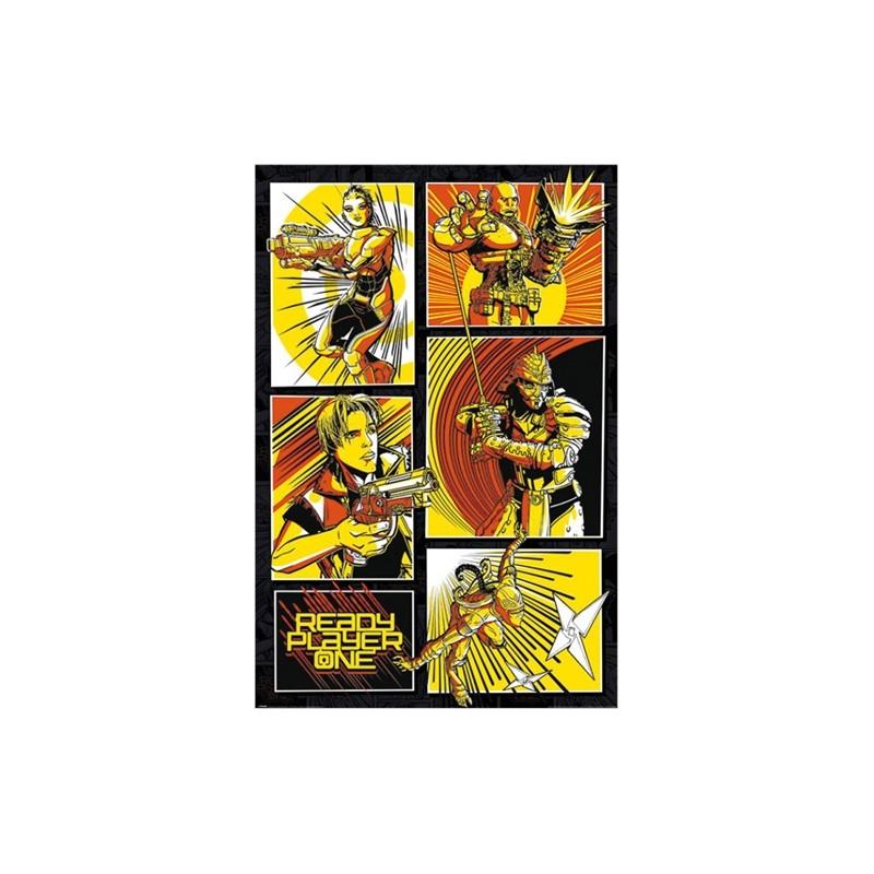 Plakát Ready Player One / Hra začíná  61 x 91,5 cm COMICS PANELS / vecizfilmu