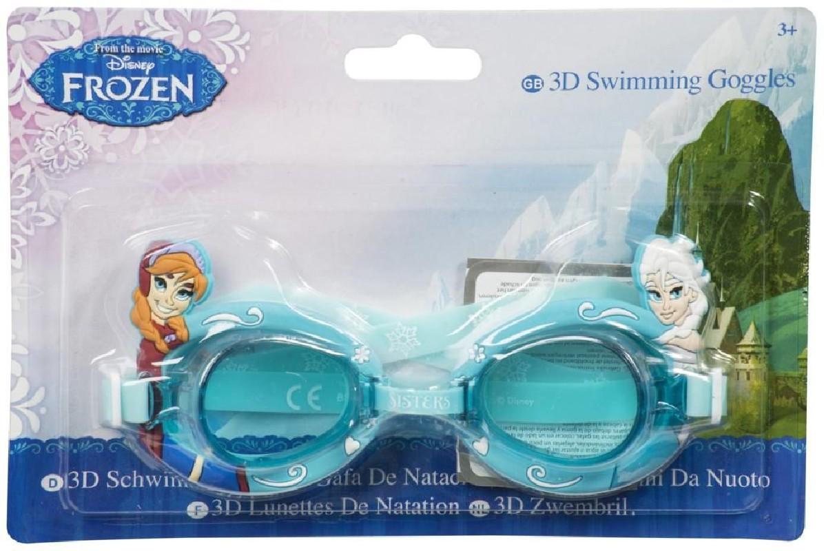 Plavecké 3D brýle Frozen