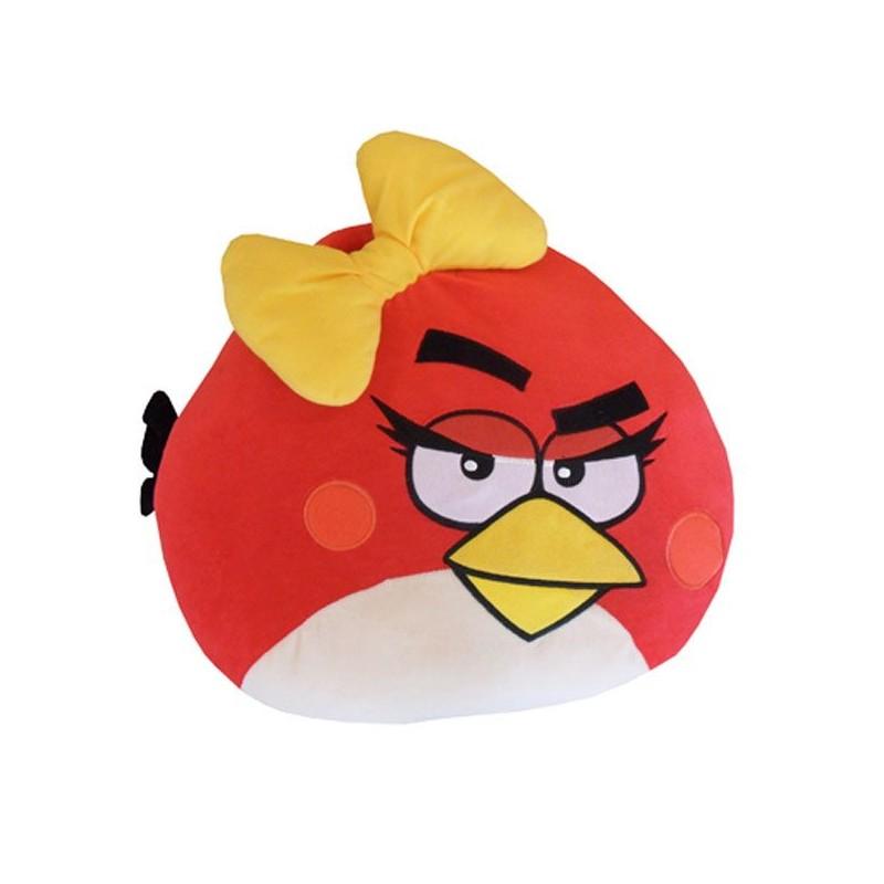 Polštářek Angry Birds Červený Girl 40 Cm