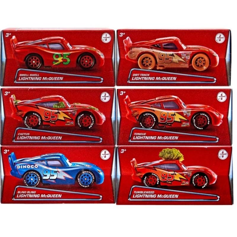 Kovový model autíčka Cars / Blesk McQueen / 7,5 cm