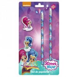 Dekorativní gumy + tužky / Shimmer and Shine