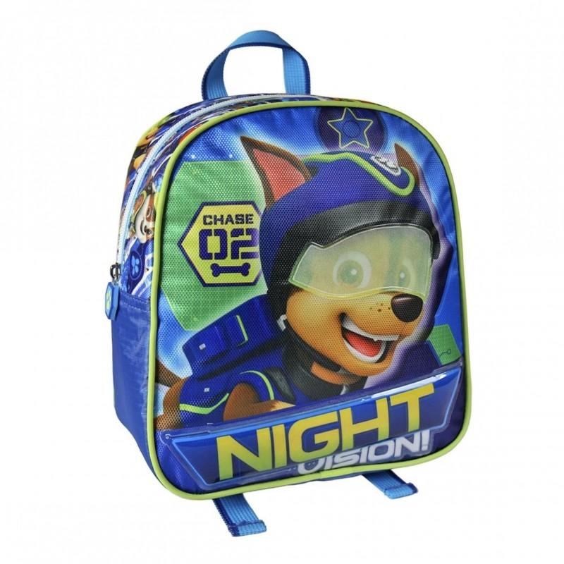 Chlapecký batoh Chase Night  Vision Paw Patrol / Tlapková Patrola 21 x 24 x 9 cm