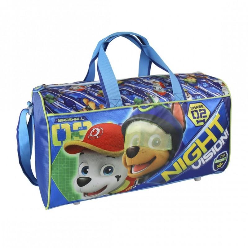 Sportovní taška pro kluky Tlapková Patrola / Paw Patrol Chase a Marshall 43 x 22 x 19 cm