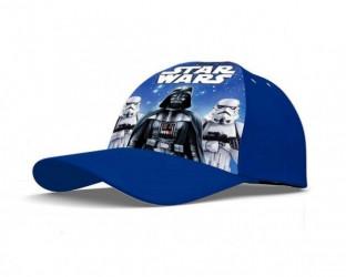 Chlapecká baseballová kšiltovka modrá Star Wars Darth Vader a Stormtrooper 52 / 54 cm / vecizfilmu