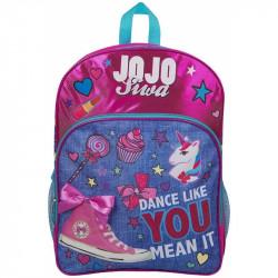 Dívčí batoh / Jojo Siwa / Tanečnice růžový 41 x 31 cm / veci z filmu
