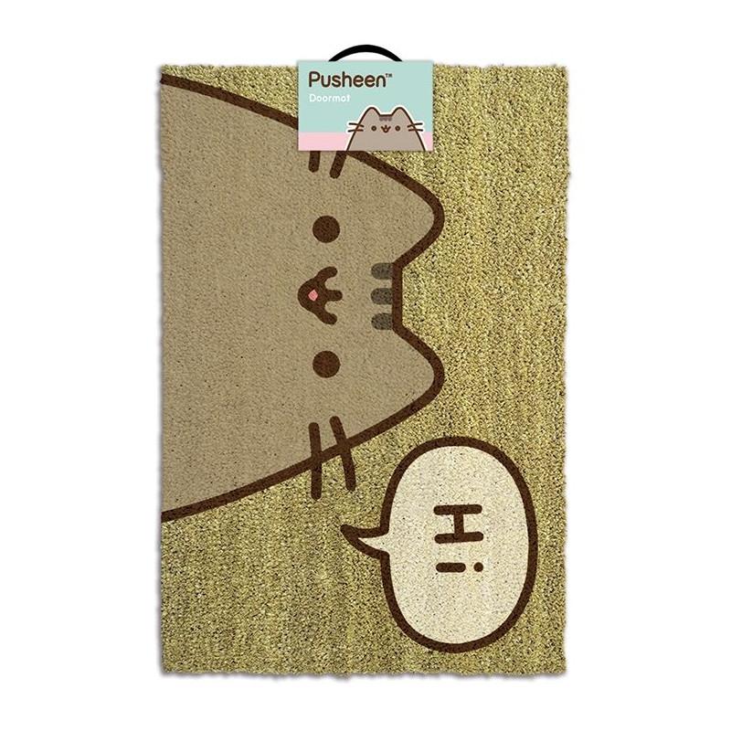 Dveřní rohožka Pusheen / Hi / 40 x 57 cm