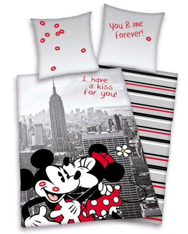 Povlečení Mickey a Minnie New York 140/200