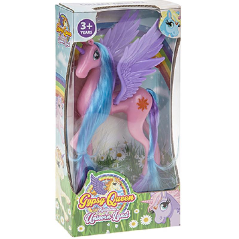 Plastová figurka Jednorožce / Unicorn / 8 x 4,25 cm
