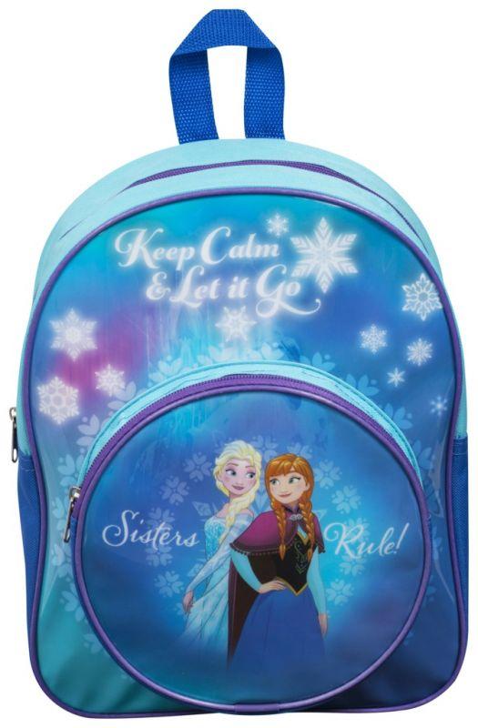 Dívčí junior batoh Anna a Elsa Ledové Království / Frozen 32 x 26 x 11 cm