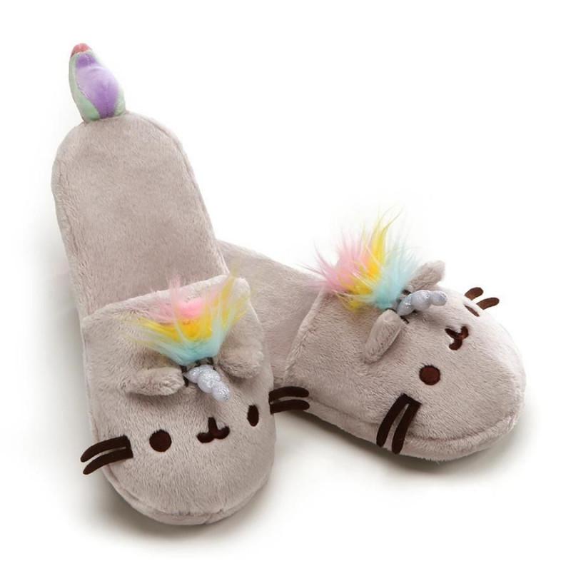 Domácí obuv / Papuče / Pusheen / délka 30 cm