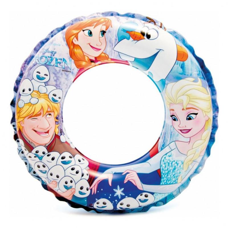 Nafukovací kruh Frozen / Ledové království / 51 cm