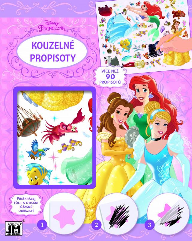 Nálepky / propisoty kouzelné / Princezny / Princess