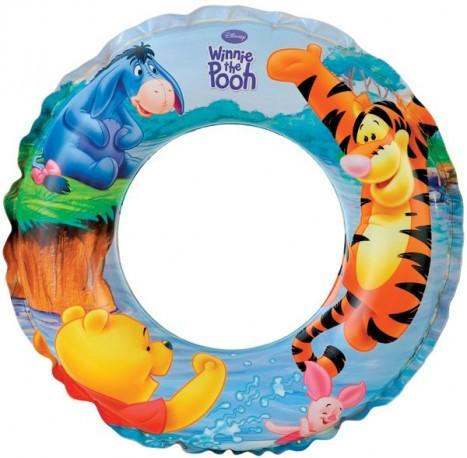 nafukovací kruh Medvídek Pú, 51 cm, 3-6 let