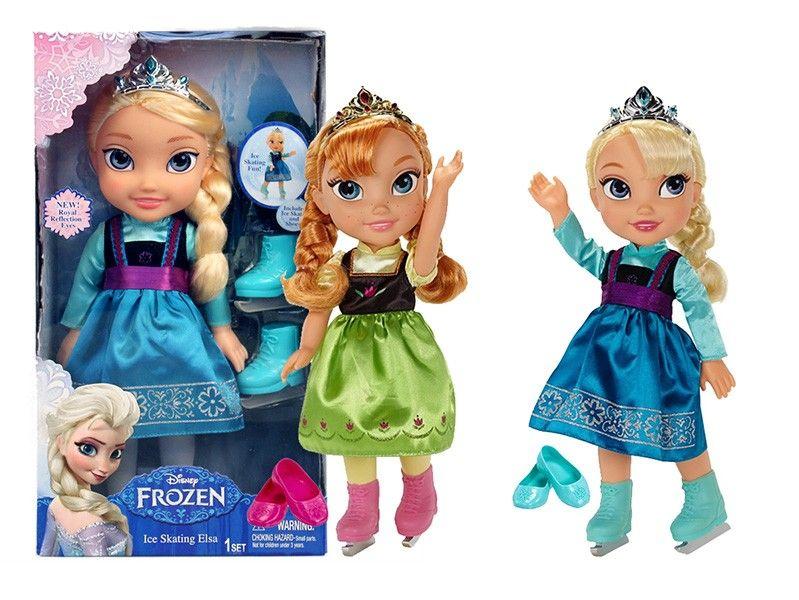 panenka FROZEN Anna a Elsa na bruslích