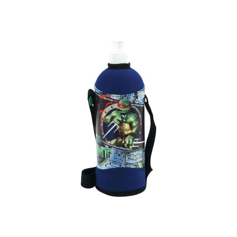 Láhev v obalu 750 ml  Želvy Ninja modrá