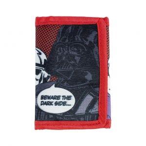 Dětská  rozkládací peněženka na suchý zip Star Wars / Hvězdné Války