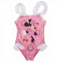 Jednodílné plavky Minnie Mouse volánky
