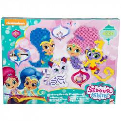 Sada tvořivých korálků Shimmer & Shine / Lesk a Třpyt 4000 kusů / vecizfilmu