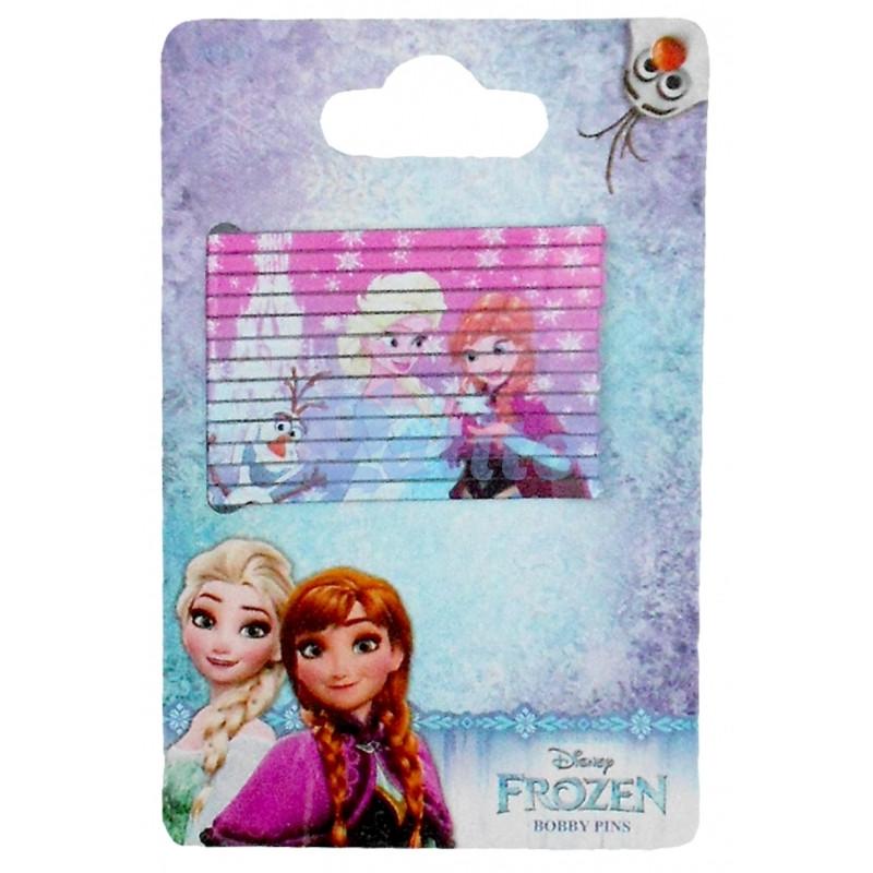 Sada 13 ks kovových sponek Anna a Elsa Frozen / Ledové Království