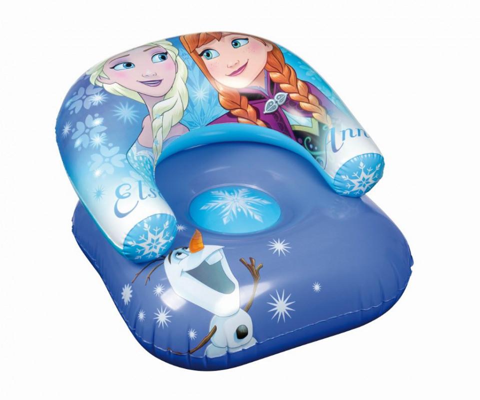 Nafukovací křeslo Frozen / 60 x 50 x 38 cm