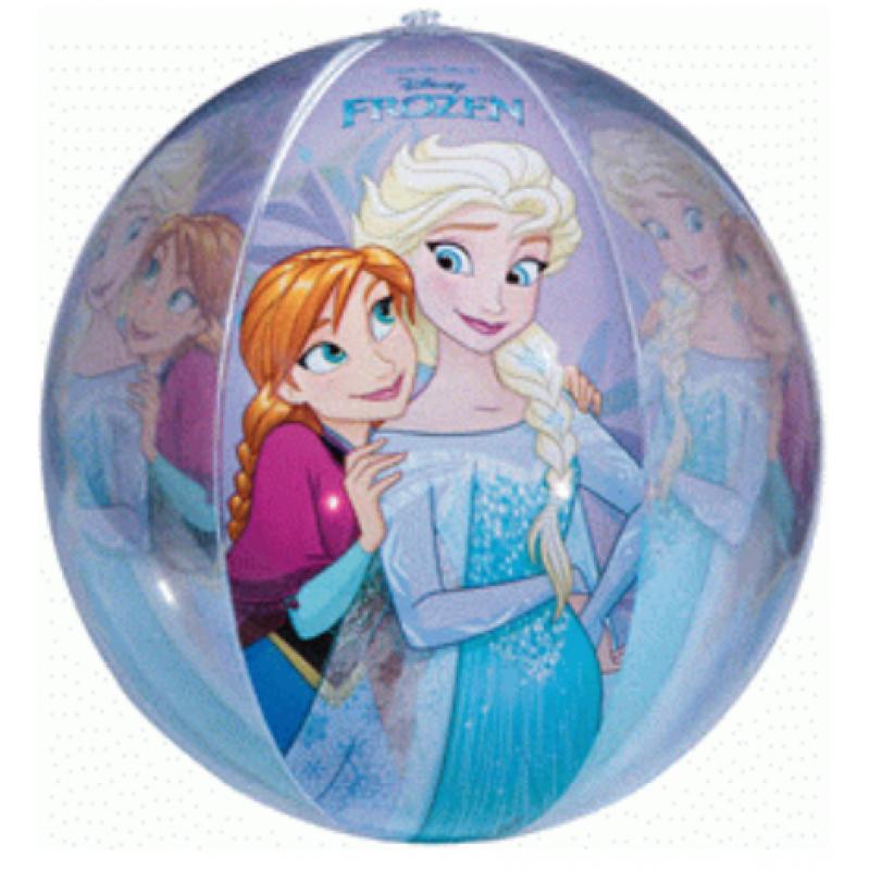 Nafukovací plážový míč Frozen / 45 cm