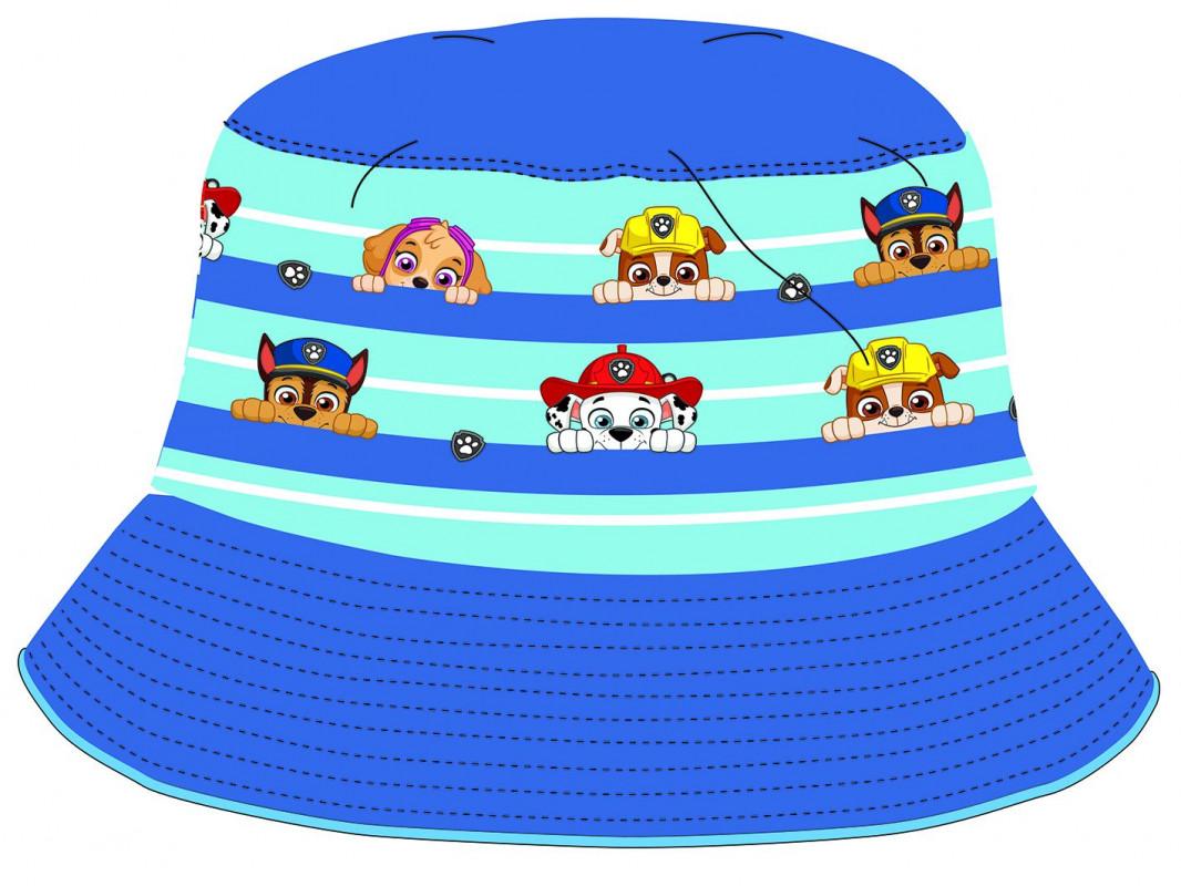 Chlapecký letní klobouček Tlapková Patrola / Paw Patrol modrý