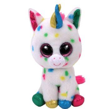 Plyšová hračka / postavička Jednorožec / Unicorn Harmonie velikost 15 cm