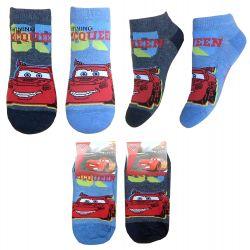 Kotníkové ponožky Cars / Auta 23 - 26 / vecizfilmu