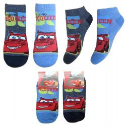 Kotníkové ponožky Cars / Auta 31 - 34 / vecizfilmu