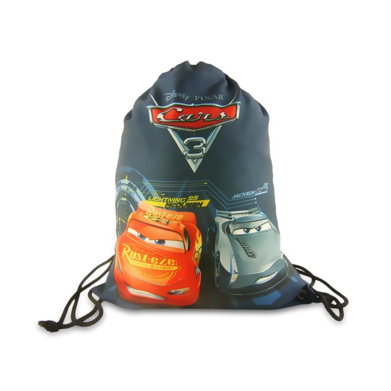 Gym bag / pytlík na přezůvky s Bleskem McQueenem / Cars / Auta 35 x 40 cm