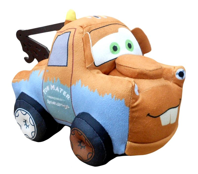 Plyšová hračka Tow Mater / Odtahovka Cars / Auta 30 cm