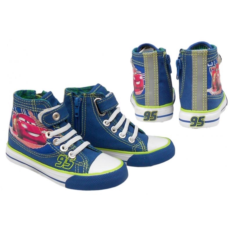 Chlapecké kotníkové tenisky s Bleskem McQueenem velikost 30 modré